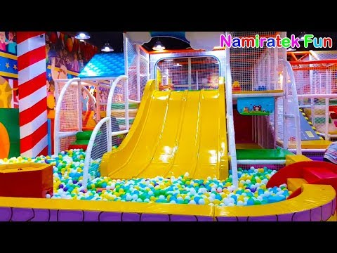 mainan-anak-indoor-playground-mandi-bola-perosotan-anak-di-taman-bermain-anak-fun-for-family-&-kids