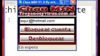 Como bloquear MSN