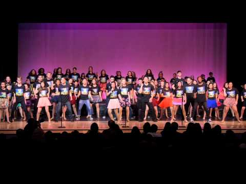 ''Teen Musical Medley'' from FAME, GREASE & HAIRSPRAY show 3 Act 2 opener, full cast