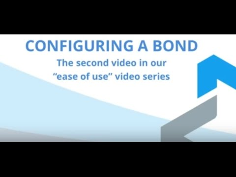Ease of Use Video Series 2) Configuring a Bond - Multapplied Networks - Bonded Internet