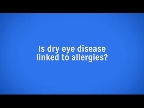 Is Dry Eye Disease Linked to Seasonal Allergies?