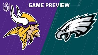Vikings vs. Eagles (Week 7 Preview) | Move the Sticks | NFL