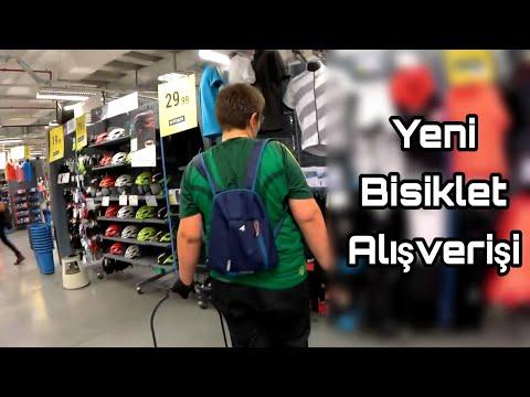 Decathlon'dan Yeni Bisiklet İçin Araç Gereç Alışverişi   Bisiklet Vlog #42