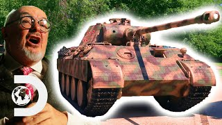 Test Driving A German Panther Tank Worth £14 Million! | Combat Dealers