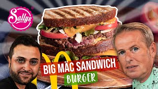 Big Mäc Sandwich Burger / Murat und Günis Burger / Sallys Welt