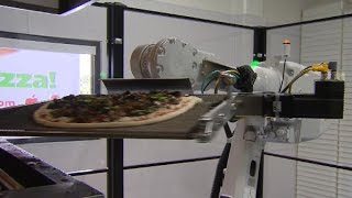 Robotic pizza restaurant opens in California