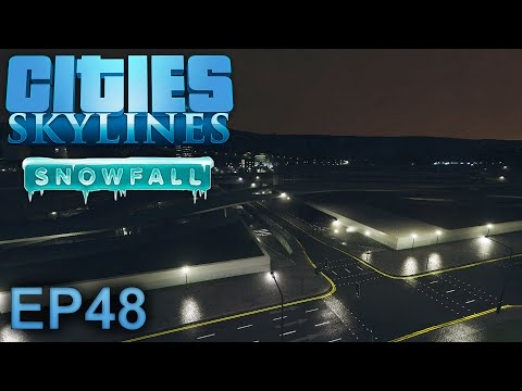 Cities Skylines (Snowfall): More Bus Routes - Episode 48
