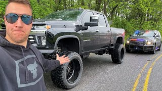 COP Says Lifted 2020 High Country Duramax is ILLEGAL In My State... LOL