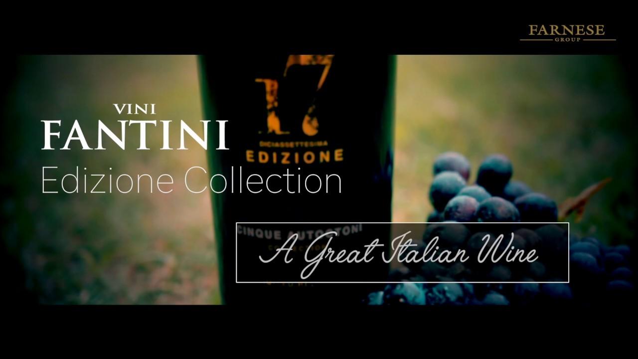 EDIZIONE COLLECTION - A great Italian wine - YouTube