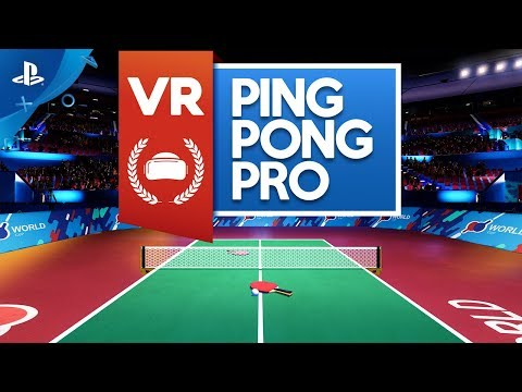 VR Ping Pong Pro - Announcement Trailer | PS VR