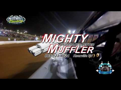 #2 Rex Coffey - Sportsman - 7-2-17 Tazewell Speedway - In-Car Camera