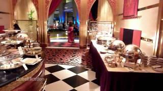 [HD] Al Iwan Restaurant - Burj Al Arab Hotel, Dubai