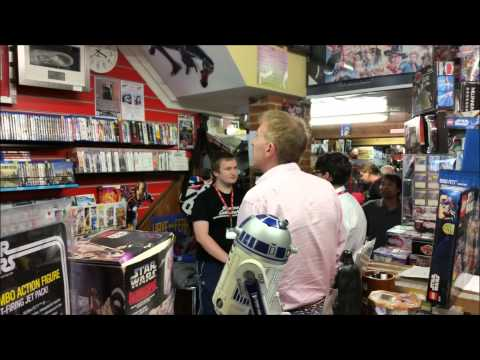 Jeremy Bulloch  Star Wars Actor: Boba Fett InStore Signing Movie