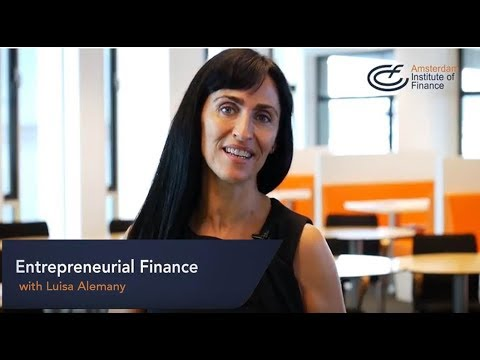 Entrepreneurial Finance program | Amsterdam Institute of Finance