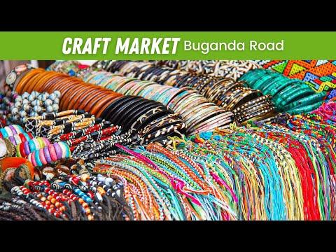 EP#25 | Craft Market on Buganda Road + Maize Porridge for Breakfast (Uganda Daily Vlogs #UGDV)