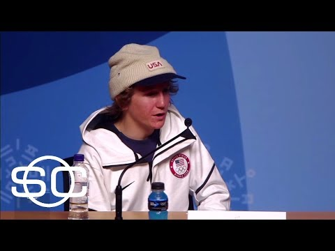 Red Gerard breaks records as he wins Olympic gold medal in snowboarding   SportsCenter   ESPN