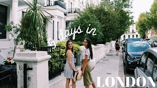 Loving Life in Europe | Follow me around for 5 days in LONDON // Travel VLOG 2