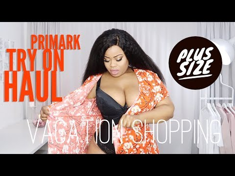 Huge Plus Size Summer Primark Try On Haul | Edee Beau