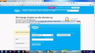 Repeat youtube video Skype Yükleme Ve Kullanımı