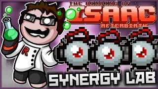 The Binding of Isaac: Afterbirth - Synergy Lab: ULTIMATE TECHNOLOGY!