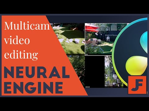 Multicam Video Editing- Davinci Resolve 16 Neural Engine