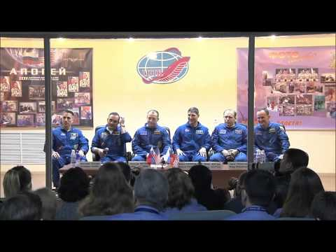 Cassidy & Crewmates Cleared for Space Mission