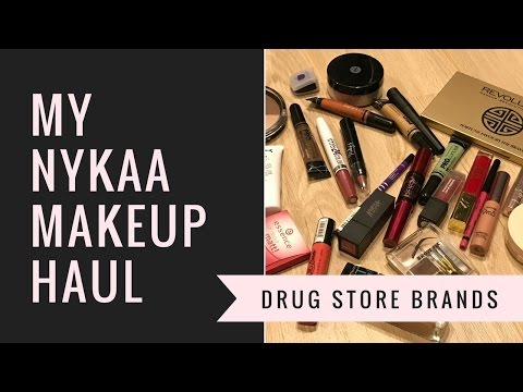 My nykaa makeup haul