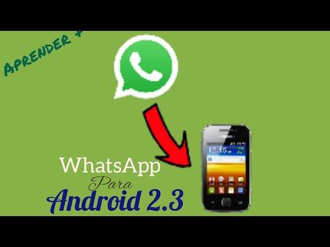 Baixar WhatsApp Para Android 2.3/2.3.6