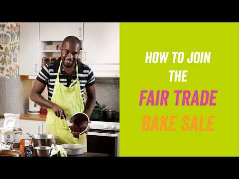 Fair Trade Bake Sale: How to Sign Up