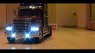 Оптимус Прайм ... Грузовик на радиоуправлении Tamiya Truck, часть 7(Распаковка прицепа для радиоуправляемого грузовика Tamiya. Решил купить открытый прицеп, так как на нем можно..., 2015-04-02T08:07:45.000Z)
