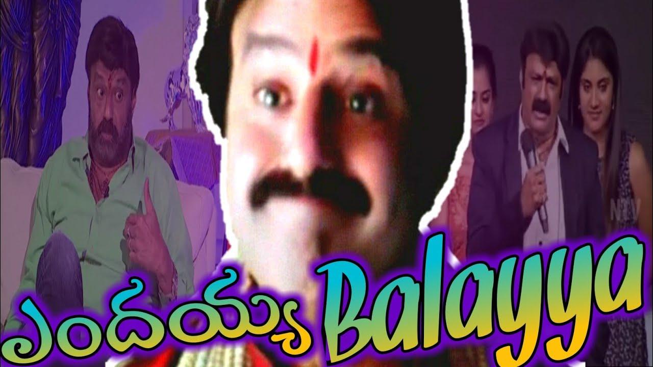 Endayya balayya -  by King Chandrahas   balakrishna interview   balayya about ar rahman