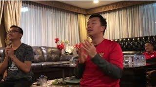 EXPRESI MENPORA !!SAAT KIPER TIMNAS U16 MAMPU MENGHALAU BOLA PEMAIN THAILAND YANG KE DUA