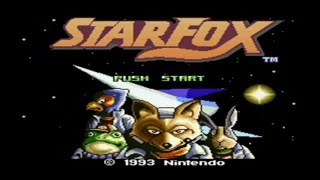 Star Fox - Level 1 - Part 1: Corneria 1, Asteroid Belt 1, Space Armada, Meteor
