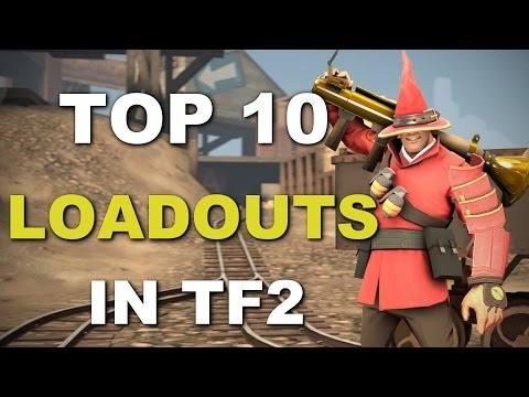 The Top 10 Loadouts In TF2! Ultimate Soldier.