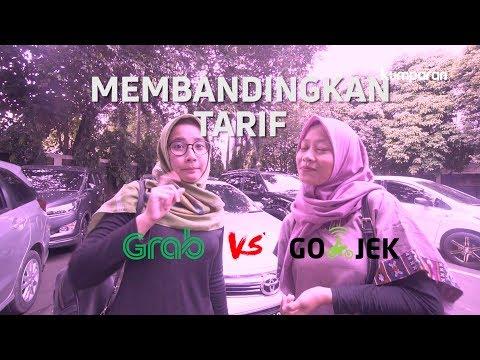 Membandingkan Tarif Gojek dan Grab