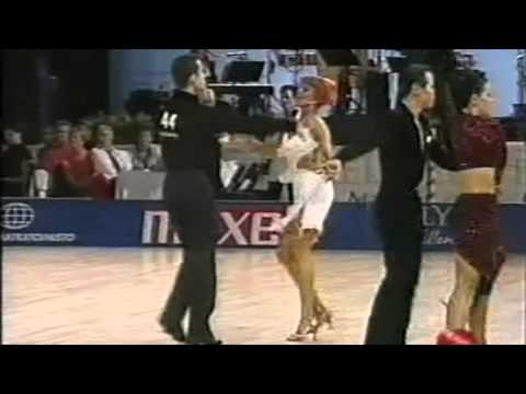 The 1999 IDSF European Latin Championships (Helsinki) starring Matthew and Nicole Cutler