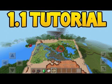 How to Find Woodland Mansion in Minecraft 1.1 Update! (Minecraft Pocket Edition)