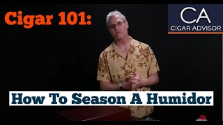 How To Set Up A Humidor #cigar101 - Famous Smoke Shop