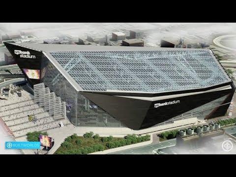 Building The Minnesota Vikings' New U.S. Bank Football Stadium