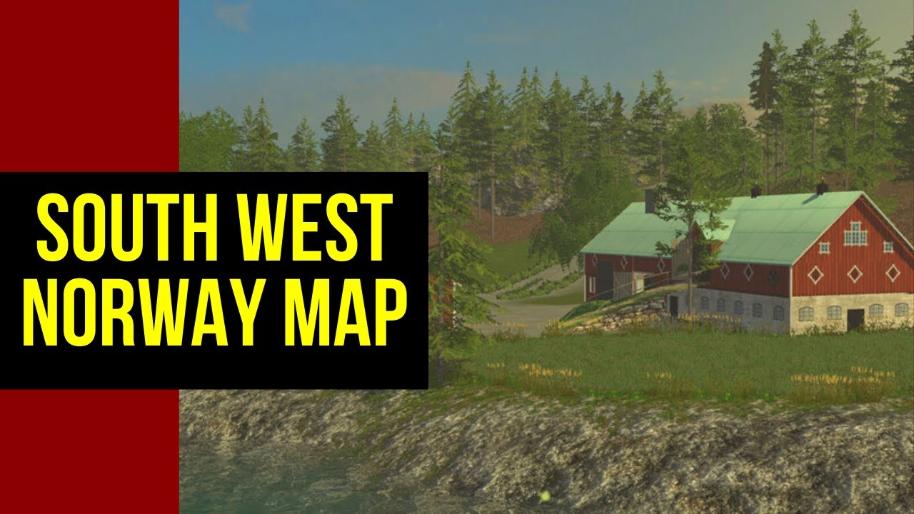 Farming Simulator SOUTH WEST NORWAY MAP V YouTube - Norway map game