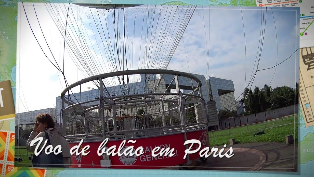 voo de balÃo em paris - youtube - Ciel De Paris Franzosische Restaurant