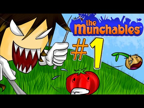 Let's Play The Munchables [Deutsch/Blind] *Part 1* - ICH BIN SATT!
