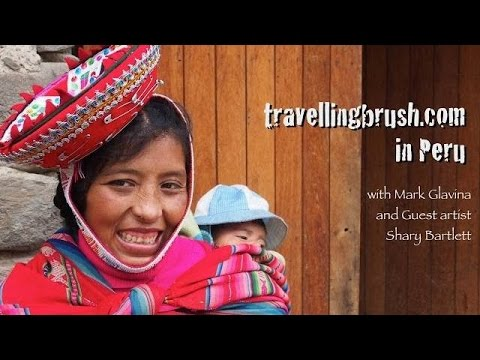 Art Vacation to Peru with Travelling Brush