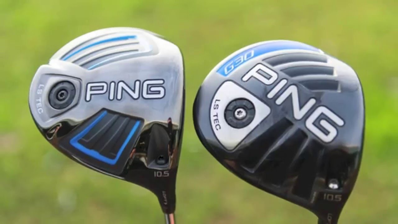ping g vs ping g30 driver test golf monthly youtube. Black Bedroom Furniture Sets. Home Design Ideas