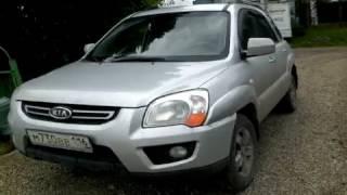 2008 Kia Sportage обзор (интерьер, экстерьер, двигатель)