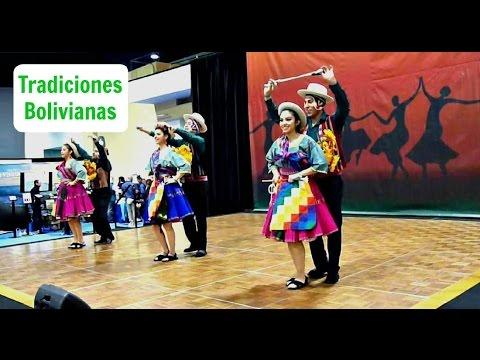 FOLKLORE BOLIVIANO - TRADICIONES BOLIVIANAS - DANZA DE BOLIVIA // LOVELY DANCE FROM BOLIVIA (2016 DC TRAVEL SHOW)