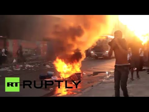 Fury & Frustration: Violence erupts as Brazilians protest transport hikes