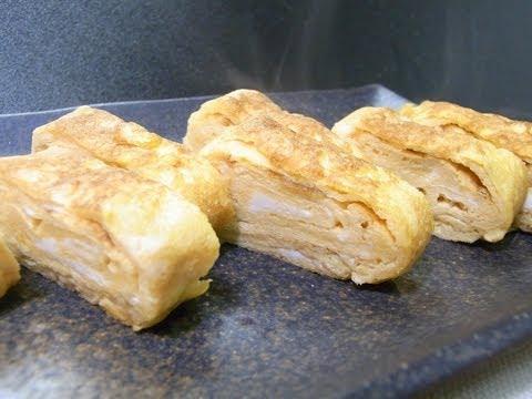 0 【HD】 How to make Tamago yaki  ふっつーの卵焼き