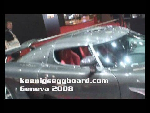 Koenigsegg Ccx And Ccxr Edition At Geneva Stand March 2008