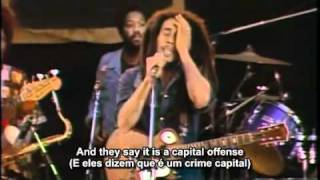 Bob Marley - I Shot The Sheriff (Live in Santa Barbara, California) - Legendado